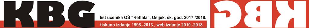 "KBG, list učenika OŠ ""Retfala"", Osijek, šk. god. 2017./2018."