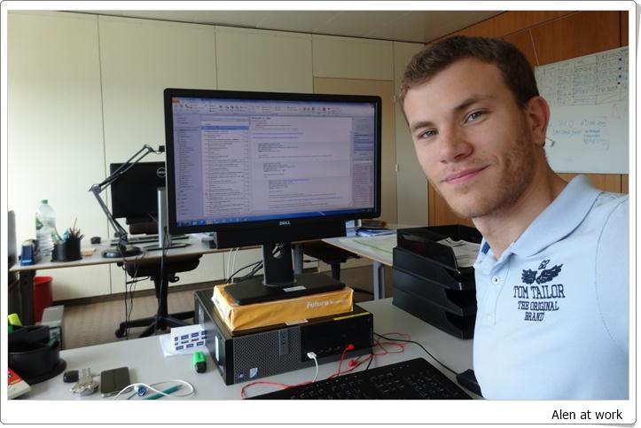Alen at work web