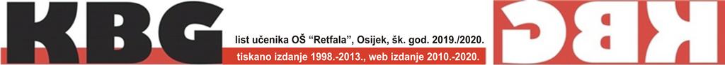 "KBG, list učenika OŠ ""Retfala"", Osijek, šk. god. 2019./2020."